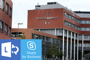Westfriesgasthuis:Lync/Skype For Business